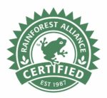 Rainforest Alliance Certified Est 1987 logo
