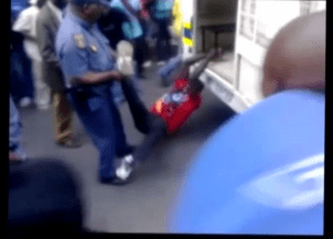 Citizen video documented a man dragged by a South African police van, before he died in jail of head injuries.