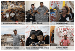 """In the """"Six Cameras"""" project, B'Tselem and the Guardian gave six Palestinians and Israelis cameras to create video diaries of their lives in occupied East Jerusalem."""