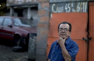 Héctor Moscoso, líder comunitario de El Naranjal.