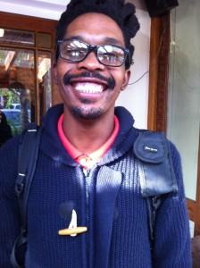 Buhle Ndamase, filmmaker in the Eastern Cape region of South Africa. Photo: Sara Federlein