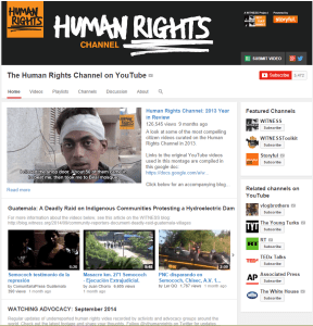 Human Rights Channel by WITNESS and Storyful