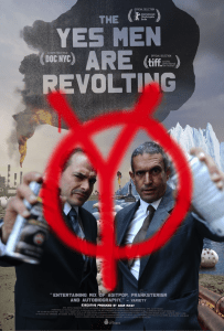 The Yes Men Are Revolting will be available online starting on June 9th and will be in select US theaters June 12th.