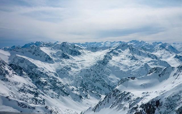 Gletscherblick ins Ötztal