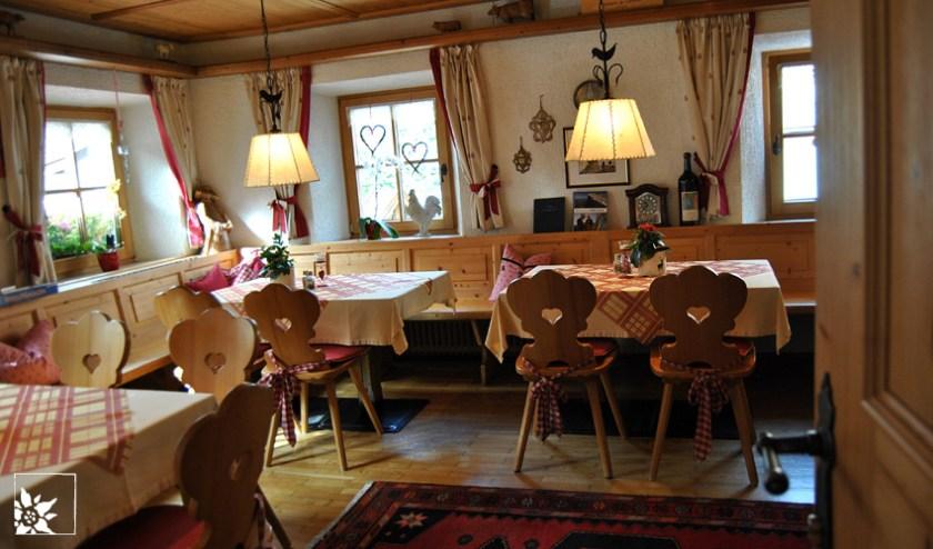 Gaststube im Bruggerhof Fulpmes