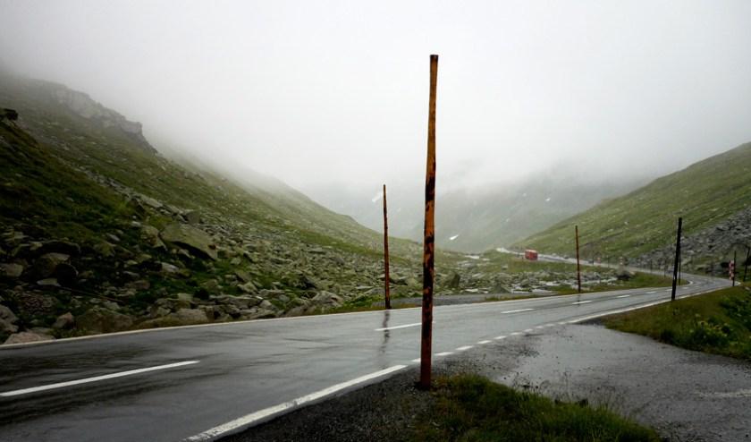 Passtraße Flüela - Schweiz