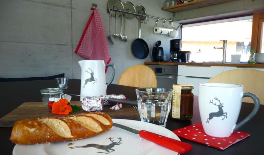 Küche Bleibe Bad Kohlgrub