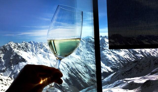 Weinglas Panorama IceQ Sölden