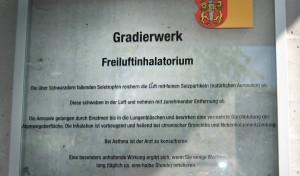 Freiluftinhallatorium Hall in Tirol