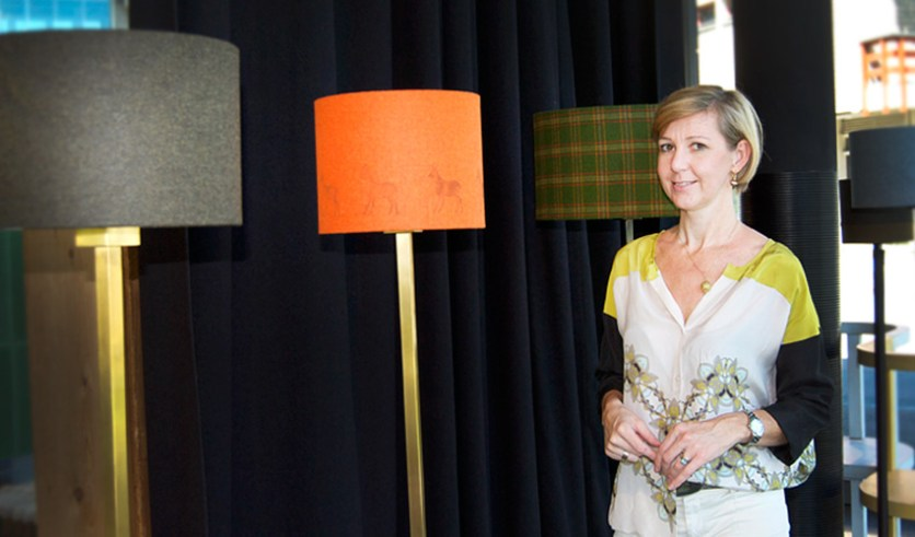 Lampendesignerin Anna Claudia Strolz
