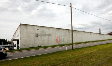 Käsekeller Bregenzerwald Seitenansicht