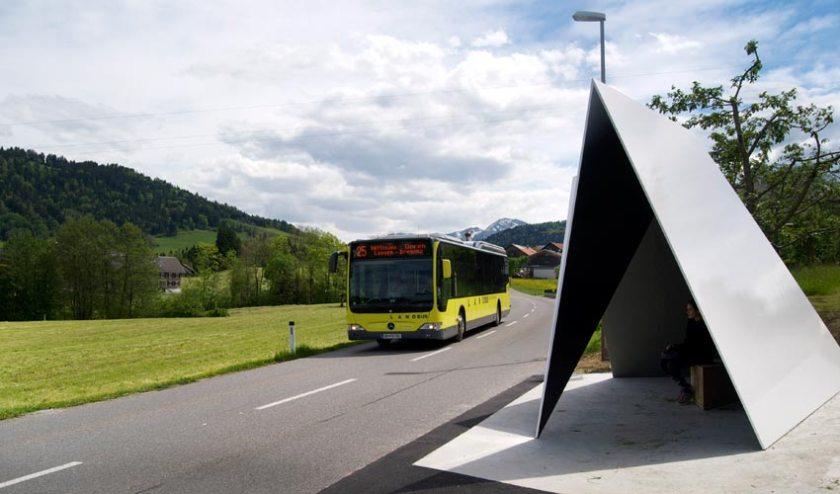 Busstop Krumbach – Belgien