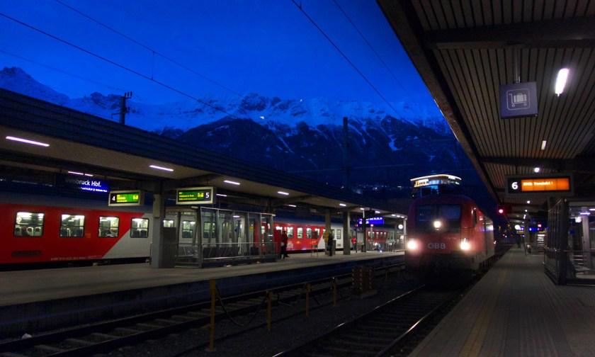 Bahnhof Innsbruck - Tirol