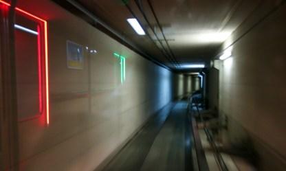 U-Bahn zum Skigebiet Serfaus Fiss Ladis