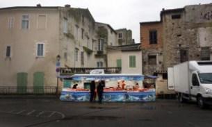 Fischstand Markt | Isle de la Sorge