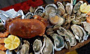 Meeresfrüchteplatte | Markt | Isle de la Sorge