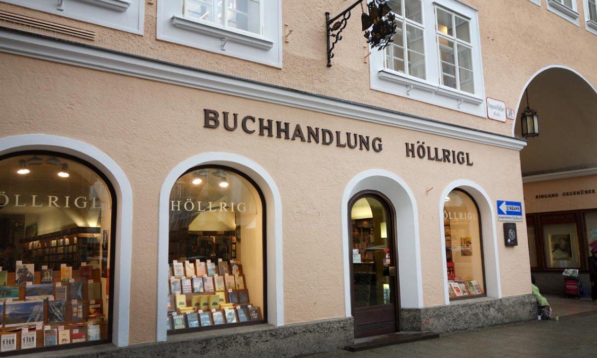 Buchhandlung Höllriegel Salzburg