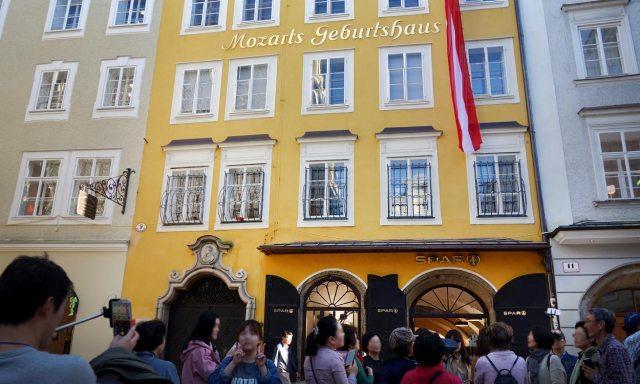 Mozarts Geburtshaus Salzburg | Getreidegasse