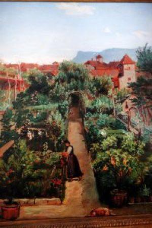 Gemälde Wasmann - Ottmanngut Meran