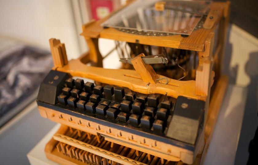 Schreibmaschinenmodell Peter Mitterhofer Partschins