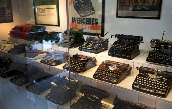 Schaukasten – Schreibmaschinenmuseum Partschins