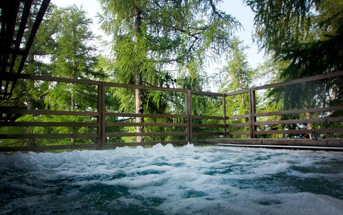 Vigilius Mountain Resort - Aussenbecken Whirlpool