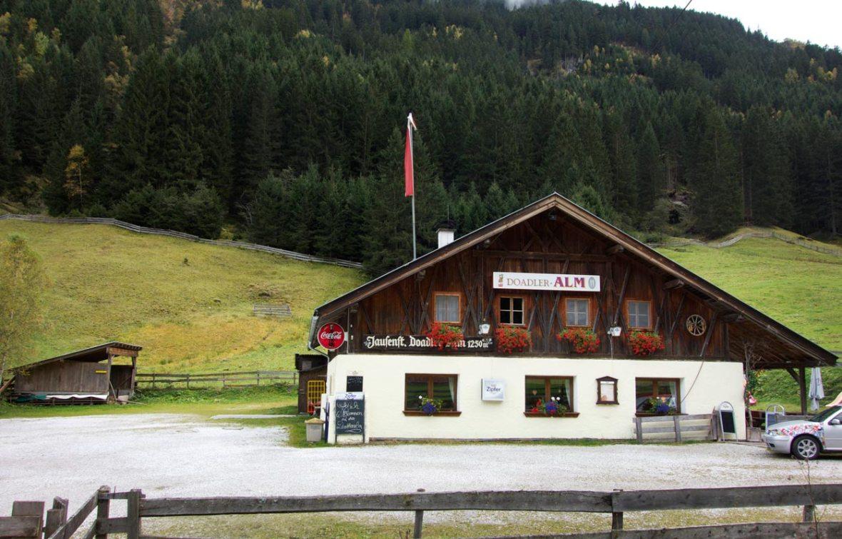 Doadleralm Stubaital Tirol