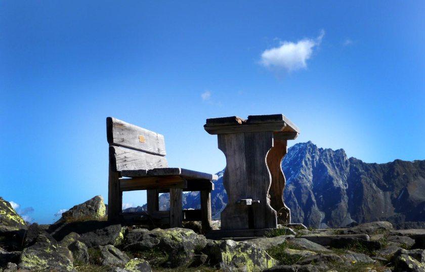 Stubaier Alpen - Tisch