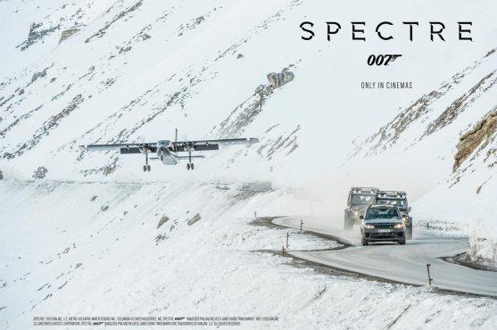 James Bond in Sölden – SPECTRE© 2015