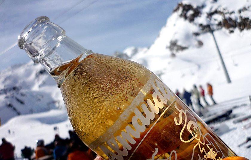 Almdudler Stubaier Gletscher