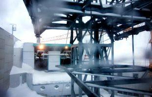 Ausfahrt Bergstation Eisgrat