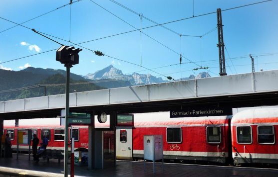 Bahnhof Garmisch Partenkirchen