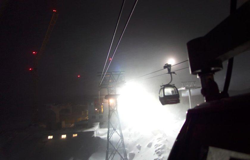 Eisgratbahn - Nacht Mutterberg