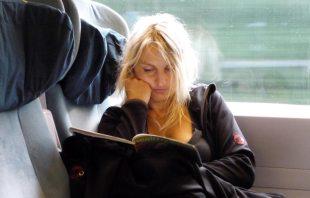 ich im Zug