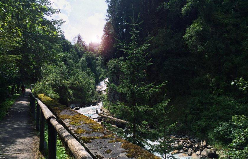 Bad Gastein Wasserfall-Weg