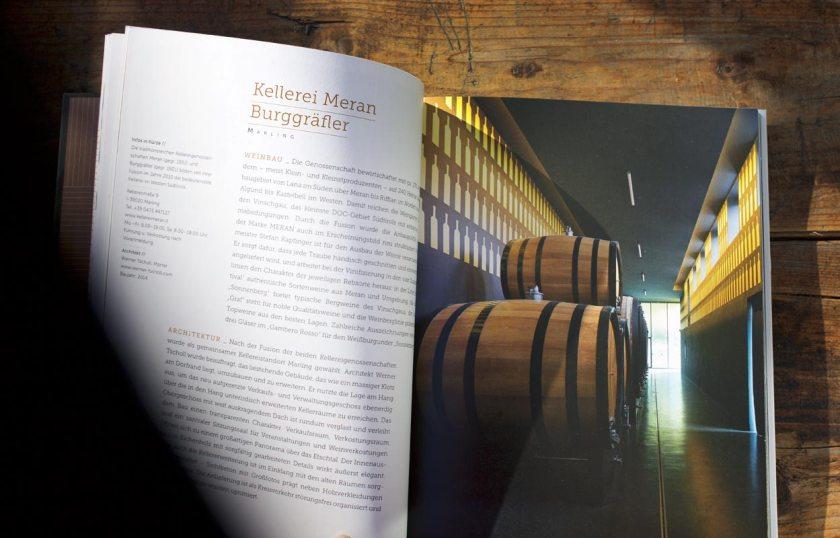 Buch WeinBau - Kellerei Meran