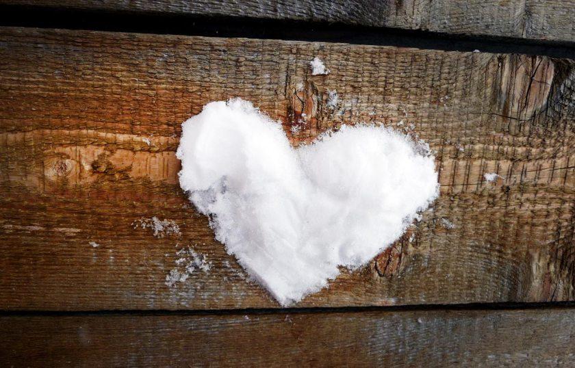 Schnee-Herz