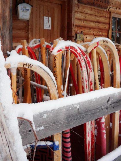 Rodelhütte Tirol