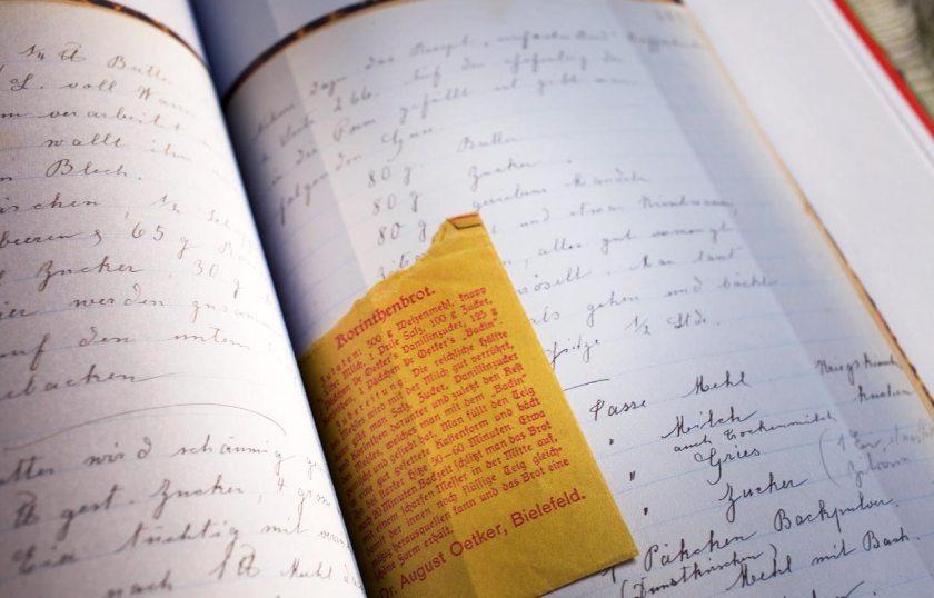 Kochtagebücher Peter Breuer - Buchseite