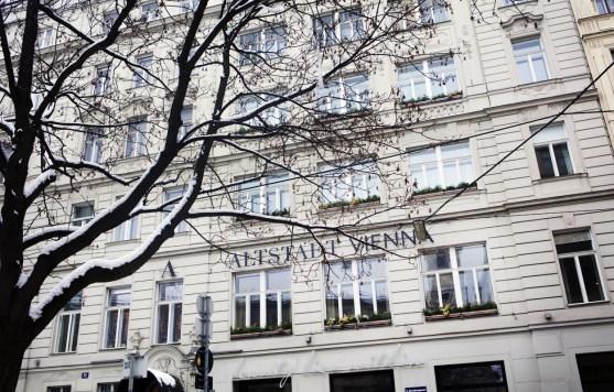 Alststadt Vienna - Fassade