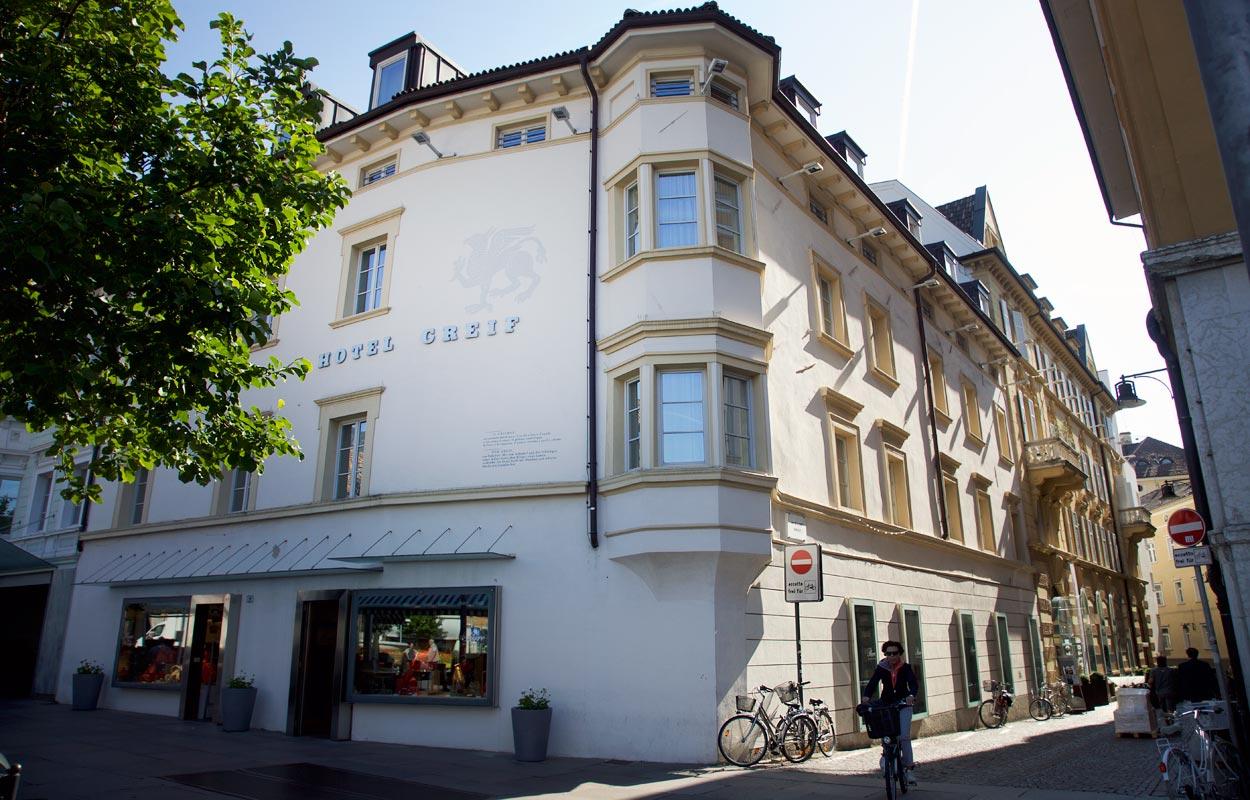 Designhotel greif bozen hautnah alpen reiseblog for Designhotel bozen