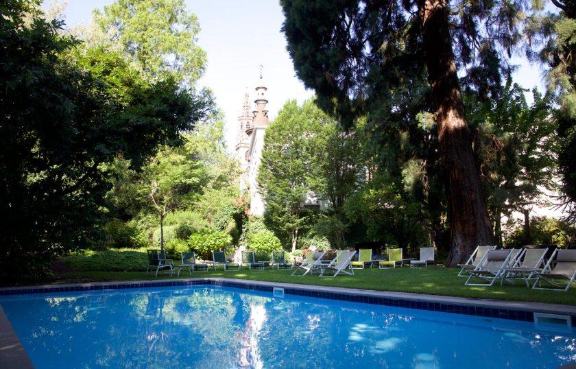 Schwimmbecken Park Hotel Laurin