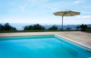 Pool - Che bella Vista Ferienhaus in Ligurien