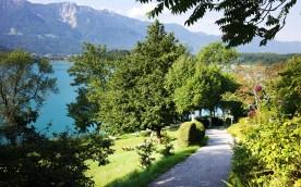 Karnerhof - Weg zum See