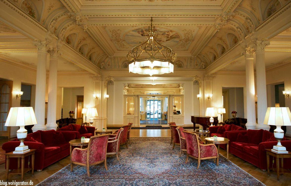 Lobby Grandhotel Kronenhof Pontresina