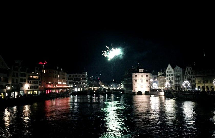 Silvester in Zürich