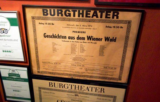 Plakat Burgtheater