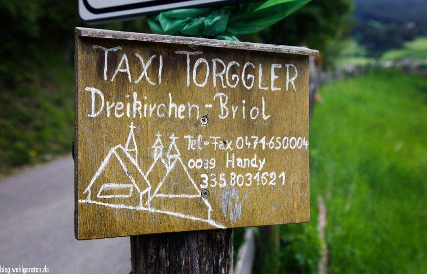 Taxischild Briol