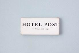 Streichholzschachtel Hotel Post