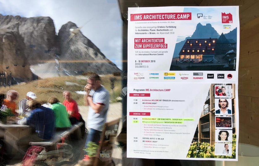 ArchitectureWalk International Mountain Summit 2018 Brixen